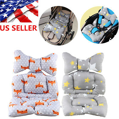 Newborn Baby Stroller Car Pushchair Liner Cover Mat Seat Chair Cotton Cushion XX