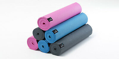 Yoga Mat 4mm Non Slip Lightweight PVC Large Premium Home Gym Bulk Discount Addax