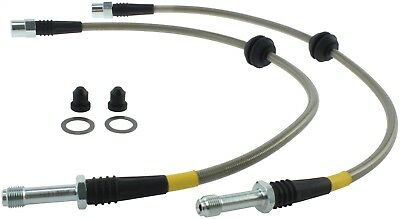 StopTech 950.33016 Stainless Steel Braided Brake Hose Kit