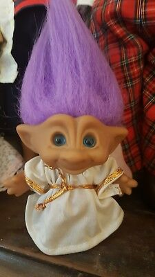 Angel Troll Doll Vintage