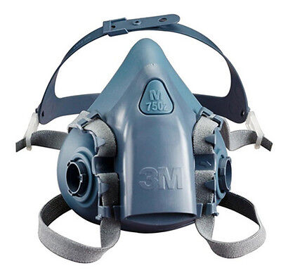 Free Fhipping New For 3M 7502 Half Facepiece Respirator Silicone mask