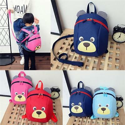 1X Cute Baby Kid Child Keeper Walking Safety Harness Backpack Leash Strap Bag FI