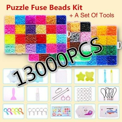 13000Pcs DIY Colour Aqua Refill Water Bead Art Kids Jigsaw Puzzle Kids Gift