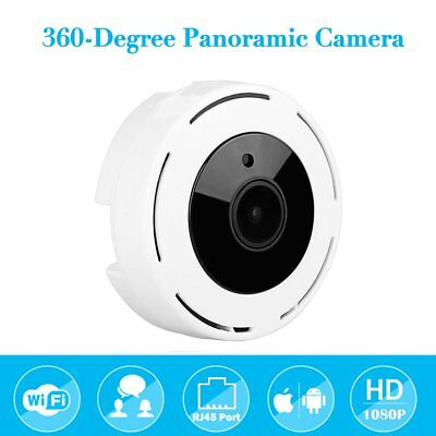 Wireless HD FishEye IP WiFi Panoramic Camera 1080P 360 Degree Security LO NEWL3