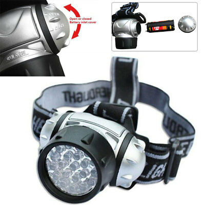 12 Leds Ultra Bright Head Torch Light Lamp Camping Hiking Fishing Lighting Car