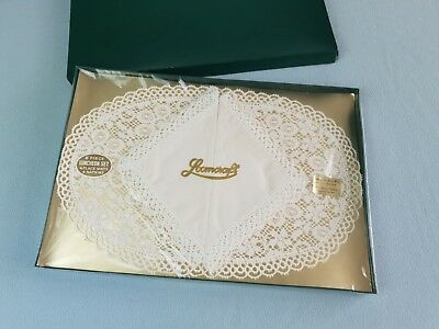 Loomcraft Luncheon set vintage 4 place mats  4 napkins New sealed