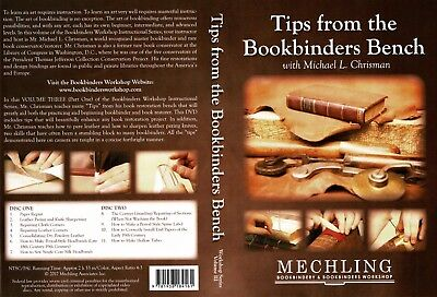 Bookbinding Instruction DVD - Great Tips For Bookbinders
