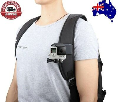 Go Pro Accessories 360-Degree Bag/Backpack Clip For GoPro Hero 7 6 5 4 3+ 3 2 1