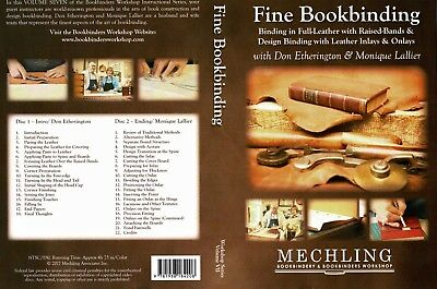 Bookbinding Instruction DVD - Fine Leather Book Binding
