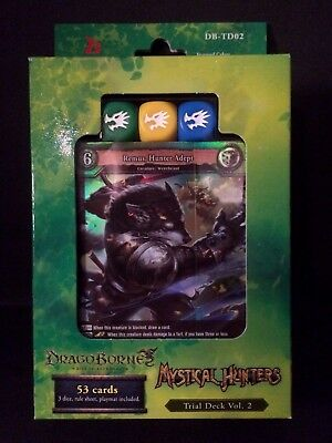 Bushiroad Dragoborne Rise to Supremacy Mystical Hunters DB-TD02 Trial Deck