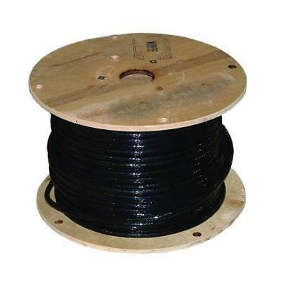 50' 2/0 Awg Welding Battery Cable - Black
