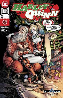 Harley Quinn #55 - Dc Universe - Release Date 05/12/18