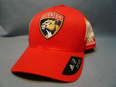 the latest 231f1 d54da Adidas Florida Panthers Structured Flex BRAND NEW hat cap NHL Draft 17