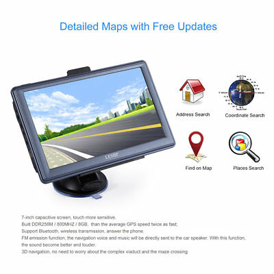 7 inch HD Car GPS Navigation Capacitive screen FM 8GB/256MB DDR/800MHZPG