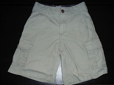 Boys OshKosh Bgosh Tan Cargo Shorts Size 6 Adjustable Waist