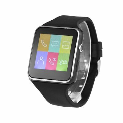 BLUETOOTH SMART WATCH X6 With 1 3MP Camera & Rubber Band For iOS for  Android L2