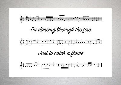 PAUL WELLER - You Do Something To Me - Sound Wave Print