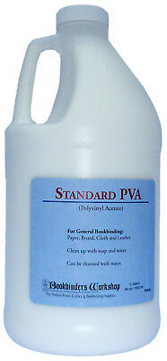 Bookbinding and Craft PVA Adhesive - Half Gallon (64 oz.)