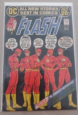 The Flash # 217 Aug.-Sept. 1972 Dc