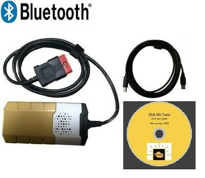 DS Gold OBD 2 PROFI DIAGNOSEGERÄT MULTIPLEXER NEU Bluetooth