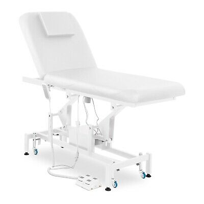 Electric Massage Table Bed Physical Therapy Spa Remote Control Foot Pedal White