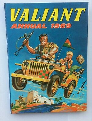 Valiant Annual 1969 - Fleetway Publications Limited - Laminated hardback