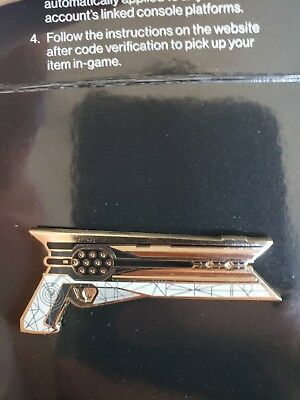 DESTINY 2 COLLECTIBLE Pin The Armory SUNSHOT (No Emblem Included)