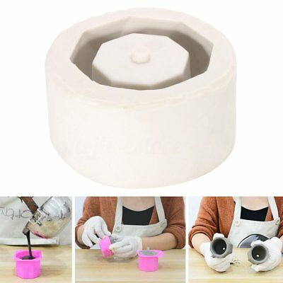 3D Silicone Flower Pot Mold Geometric Concrete Cement Planter Candle Vase Crafts