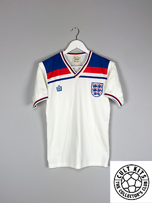 ENGLAND 80/83 Home Football Shirt (S) Soccer Jersey Admiral World Cup