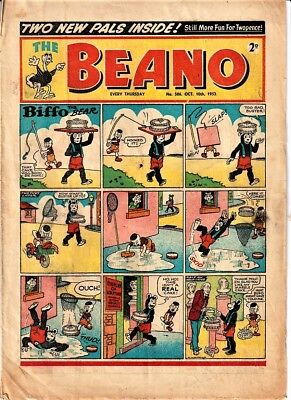 BEANO # 586 October 10th 1953 issue comic First Little Plum 1st
