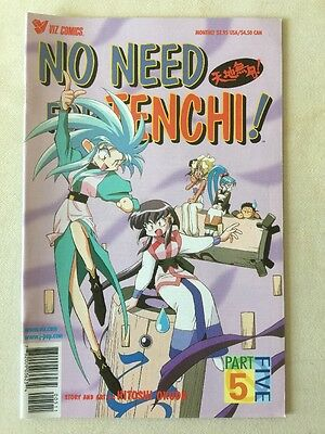 NO NEED FOR TENCHI! Part 5, Issue 5, Viz Comics MANGA 2001 JAPAN ANIME COMIC