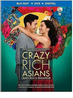 Crazy Rich Asians (Blu-ray/DVD/Digital, 2018, Canadian version WITH FRENCH)