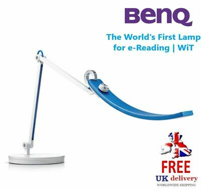 **CLEARANCE** BenQ WiT e-Reading LED Desk Lamp Dimmable Stellar Blue RRP £150