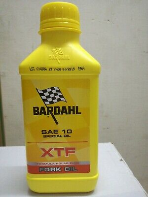 BARDAHL Olio Forcelle XTF Fork Special Oil 10W SAE 10 Olio Forcella - 500 ml