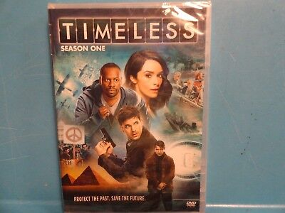 Factory Sealed New Timeless Season One DVD 2017 Great Gift Idea