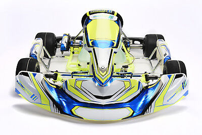 Go Kart Compkart Covert 3.0 2019 KZ Specification Rolling Chassis (50mm Axle)