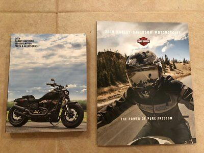 2019 Harley Davidson Genuine Parts and Accessories Catalog & Model Brochure