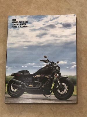 2019 Harley Davidson Genuine Motor Parts and Accessories Catalog - NEW