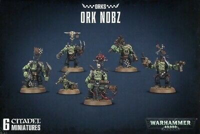 Ork Nobz Games Workshop Brand New 99120103055
