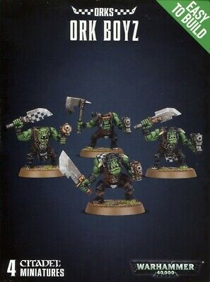 Easy To Build: Ork Boyz Games Workshop Brand New 99120103051