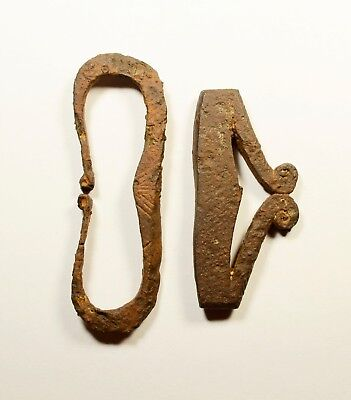PERFECT CONDITION - ANCIENT ROMAN Iron FIRE STARTER FIRE STRIKER - LOT OF 2
