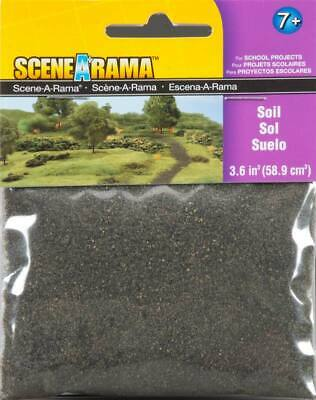 NEW Woodland Soil Train Scenery N/HO SP4182