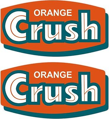 Orange Crush Sticker Decal