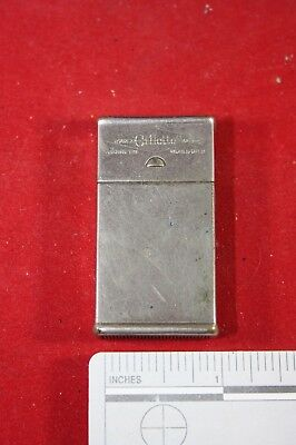 (A10) Vintage Safety Razor: Gillette Metal Razor Blade Box Safety Case