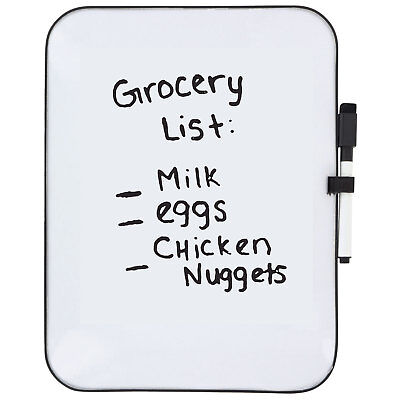 Mini Dry Erase White Board With Eraser Topped Marker