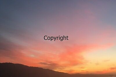 Digital Image Picture JPEG Desktop Wallpaper Screensaver. Sunset and mountains