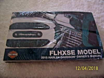 Harley Nos 2015 Flhxse Owners Manual! Free Shipping!!