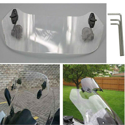 Risen Adjustable Wind Screen Windshield Spoiler Air Deflector For BMW R1200GS GS