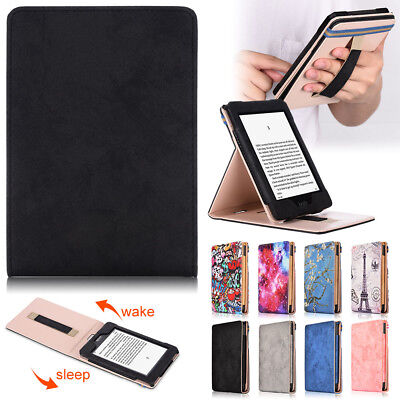 For Amazon Kindle Paperwhite 2018 Case Slim Smart PU Leather Flip Magnetic Cover