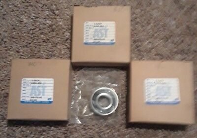 3 pc, 6203-2RS AST Rubber Sealed Ball Bearing, 17x40x12, Lubricated 6203RS